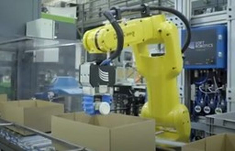 Automated Dispensing System for Medical Respirators © FANUC America