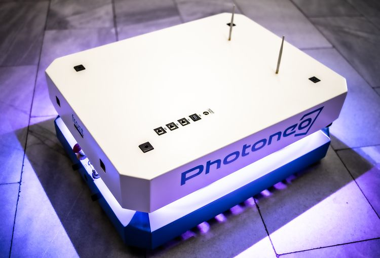 Phollower 100 mobile platform © Photoneo